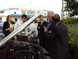 Wernher Hebert Faull/CEO for ET2020 and Executive from Ford Motor Company-Commissioner Marc Sarnoff and part of Staff